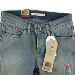 Levi's 715 Boot cut Mid Rise Jeans